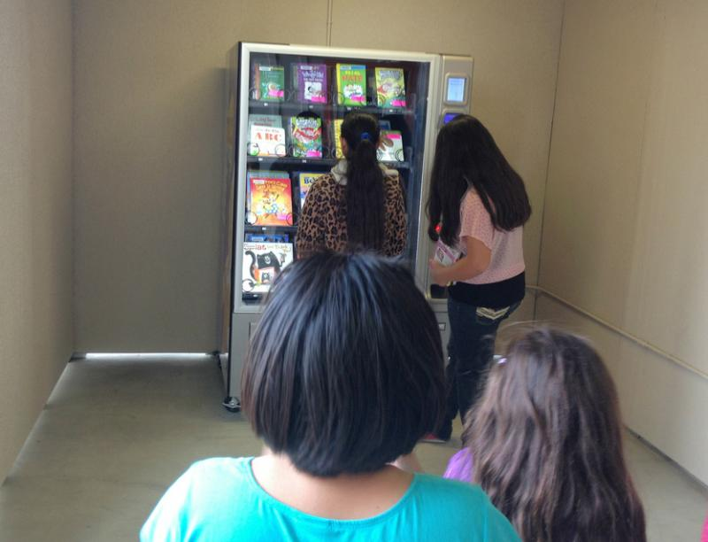 In Tulare County, Redbox Inspires Vending Machines For Books