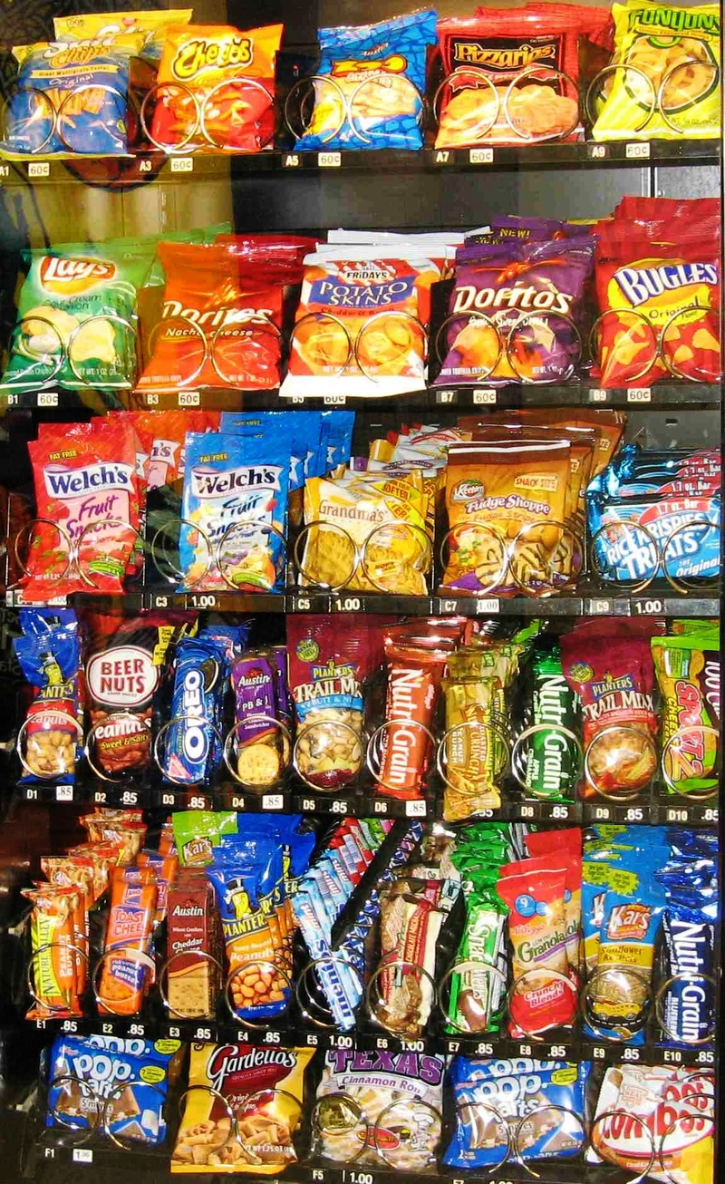 What is the Shelf Life of Vending Snacks and Drinks?