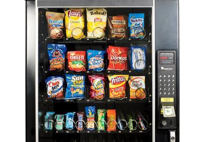 Vending Machine Choices - Which Are Healthiest?