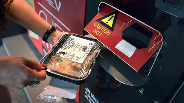 More vending machines offering hot meals