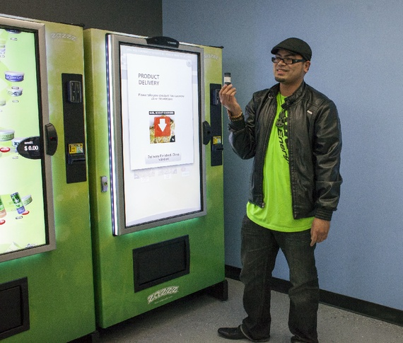 The Radical Efficiency of the Pot Vending Machine