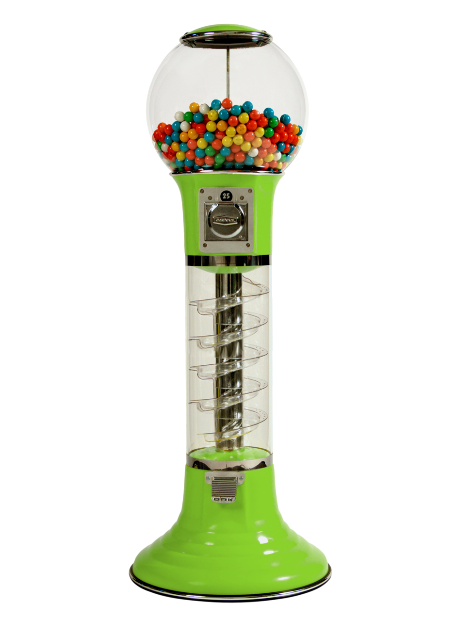 Wiz-Kid 4' Vending Machine from Global Gumball Green