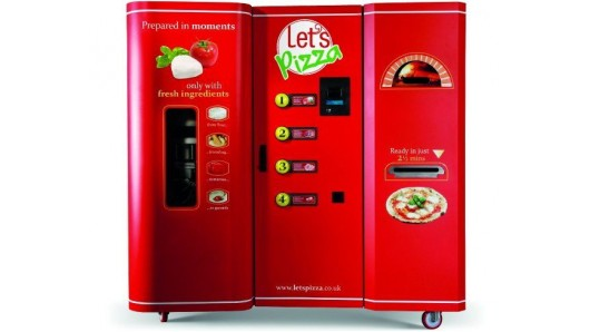 Pizza-making vending machines on their way to the U.S.