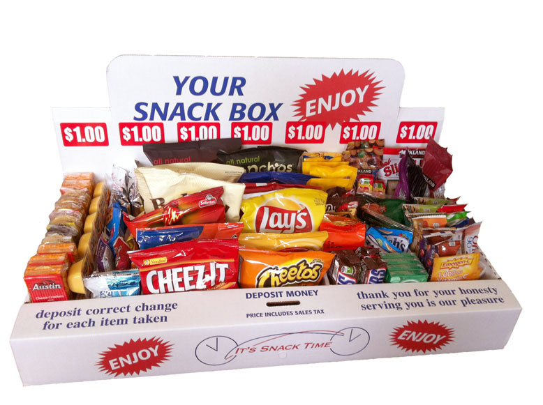 Make Money with The Honor System Snack Box