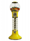 Wiz-Kid 4' Vending Machine from Global Gumball Yellow