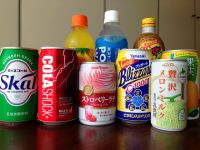 Japanese vending machine drinks under the beverage radar